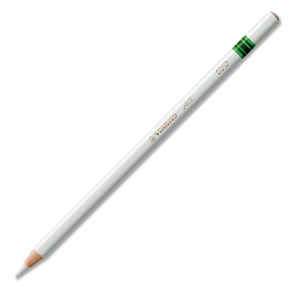 All - Stabilo white pencils