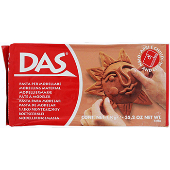 DAS Ready to Use Modeling Clay - 1KG Terracotta