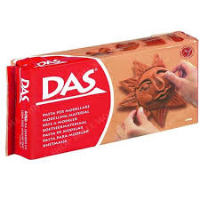 DAS Ready to Use Modeling Clay - 500g Terracotta