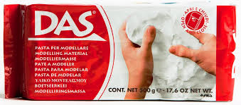 DAS ready to Use Modeling Clay - 500g White