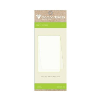 Crafter's Companion Diamond Press - Blank Folder refill size B