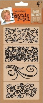 Leonie Pujol Embossing Folder - Patterns Rule