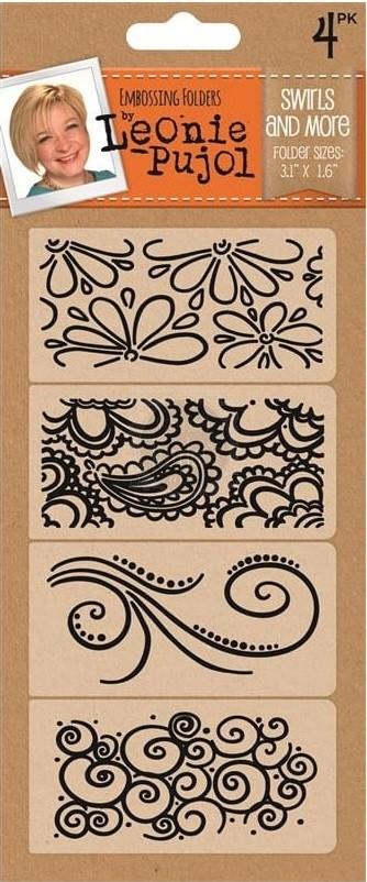 Leonie Pujol Embossing Folder - Patterns Rule