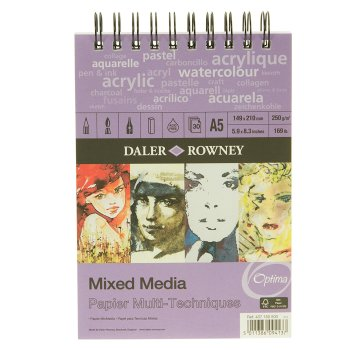Daler Rowney Mixed Media Spiral Pad A5