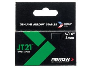 Arrow JT21 8mm staples - 1000