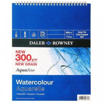 "Daler Rowney Aquafine Spiral Pad 16"" x 12"""
