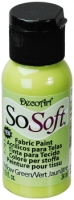 DecoArt SoSoft Fabric Paint - Yellow Green