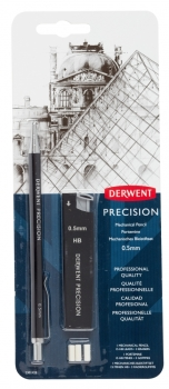 Derwent Mechanical Pencil 0.5HB blister set.