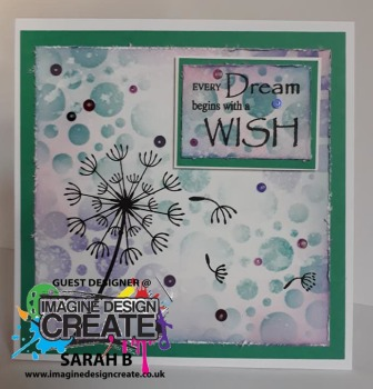 dream wish card