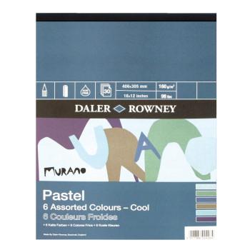 """Daler Rowney Murano Pastel Pad - Cool 16"""" x 12"""""""