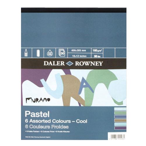 Daler Rowney Murano Pastel Pad - Cool 16