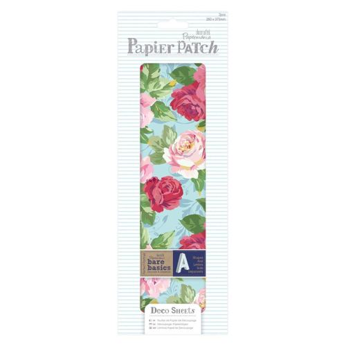 Papier Patch / Decopatch style paper - Blooms