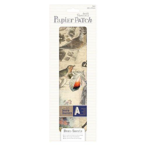 Papier Patch / Decopatch style paper - Vintage Birds