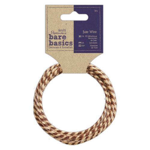 Jute Wire - Two Tone - 3M