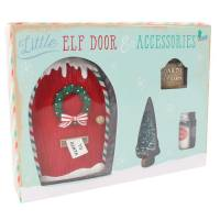 Christmas Elf Door & Accessories