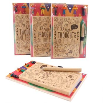 Worry Doll Notepad & pencil