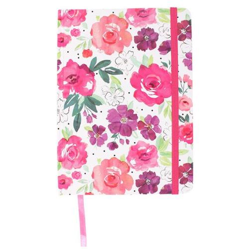 A6 Notebook - Floral Fusion