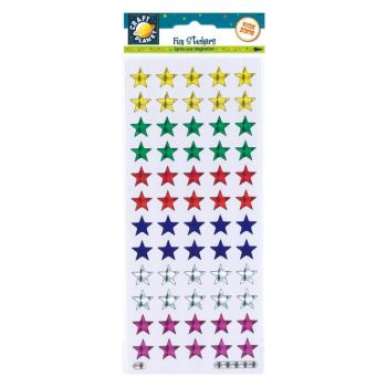 Fun Stickers Holographic Stars