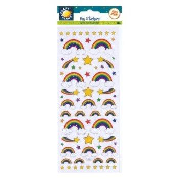 Fun Stickers - Rainbows