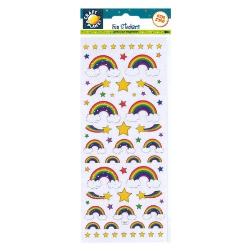Fun Stickers - Rainbows