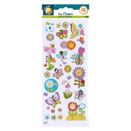 Fun Stickers - Flower Power