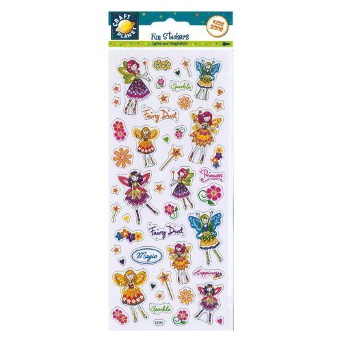 Fun Stickers - Floral Fairies