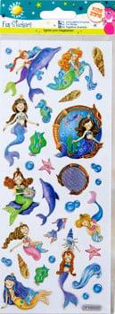 Fun Stickers - Mermaids