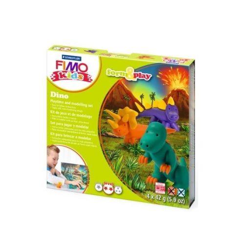 Fimo Dino form and play set