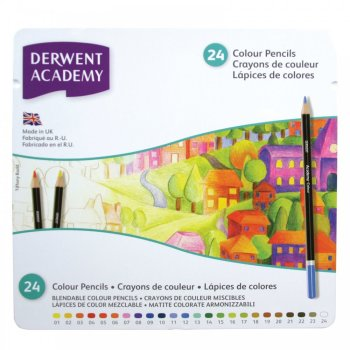 Academy Colouring 24 Tin