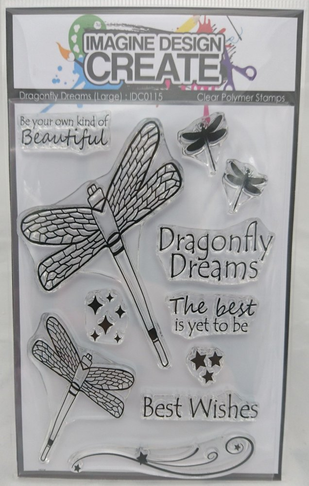Dragonfly Dreams : IDC0115 - A6 Stamp Set
