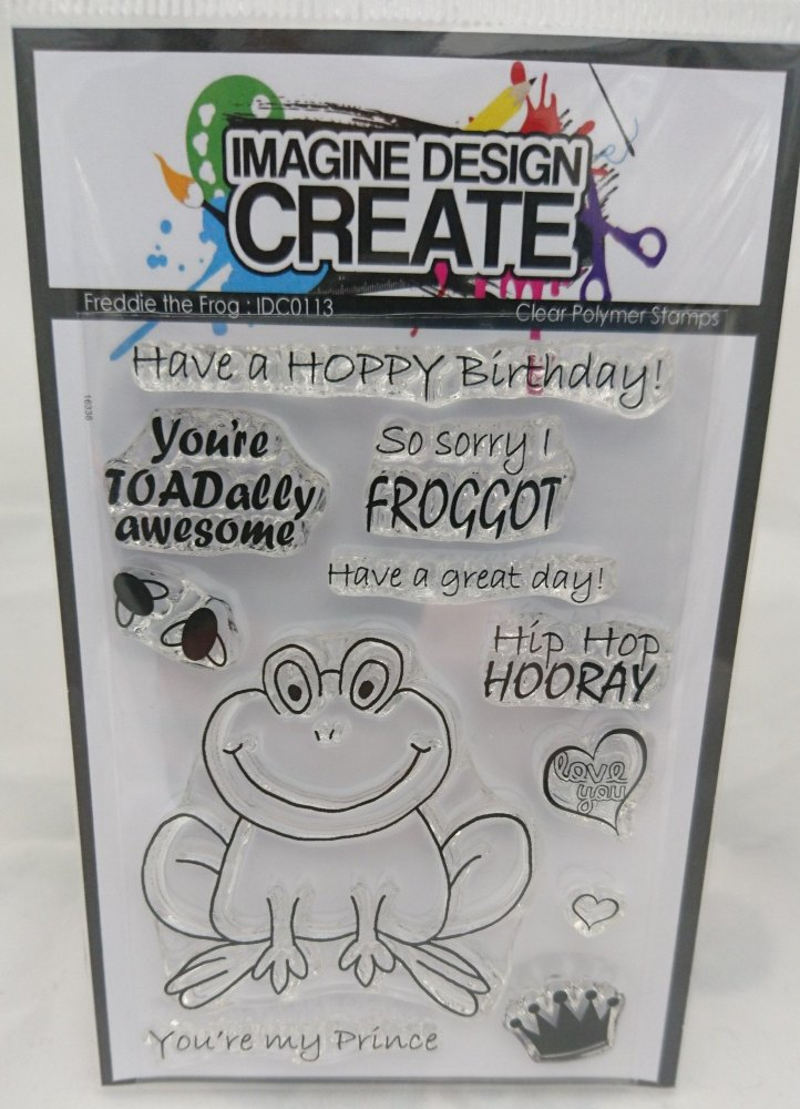 Freddie the frog : IDC0113 - A7 stamp set