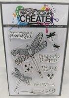 Dragonfly Dreams : IDC0114 - A7 stamp set