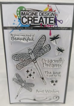 Dragonfly Dreams : IDC0114 - A7 stamp set