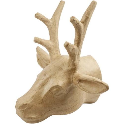 Trophy, Deer, H: 30 cm, 1pc