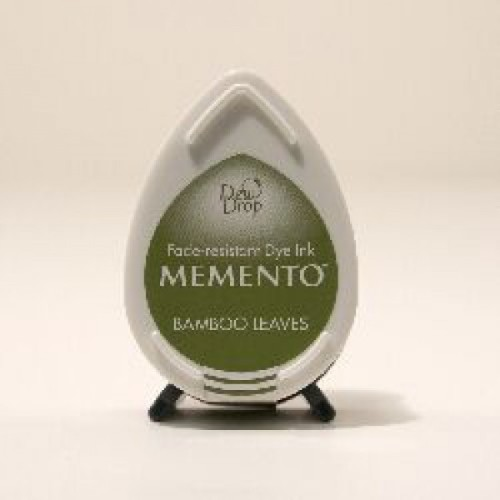 Memento Dye ink pad- Bamboo leaves