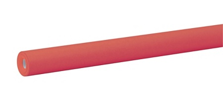 Fadeless Art Paper Roll 2' Flame Red