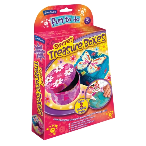 Secret Treasure boxes Fun to do kit