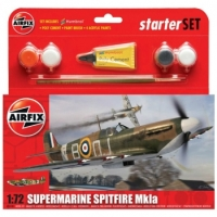 AIRFIX A55100 SUPERMARINE SPITFIRE MK1A WITH PAINTS KIT