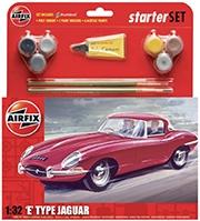 AIRFIX A55200 E-TYPE JAGUAR STARTER SET
