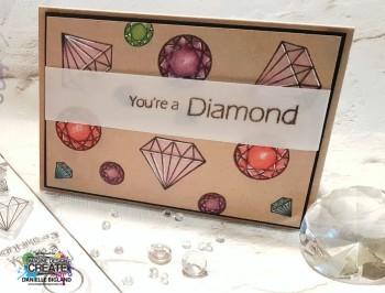 Youre a Diamond card