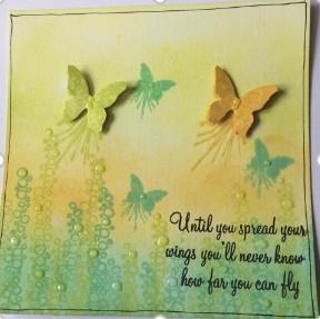 mini butterfly blot oxide