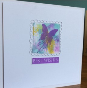 mini butterfly blot postage panel