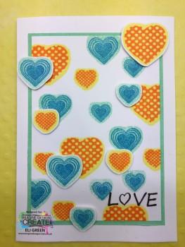 heart mix multicoloured