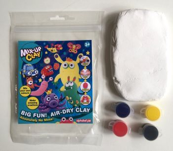 Mix-Up Clay | Super soft mouldable clay fantastic for children's crafts