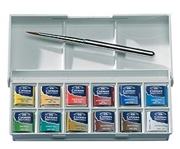Winsor & Newton - Cotman Water Colours - Sketchers Pocket Box