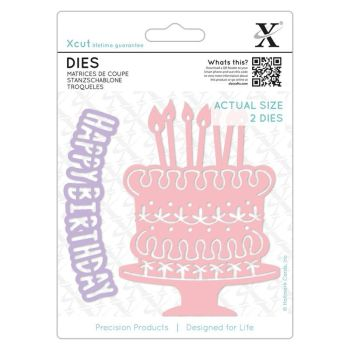 Dies (2pcs) - Birthday Cake