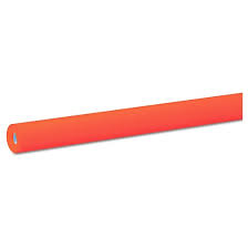 Fadeless Art Paper Roll 2' Orange