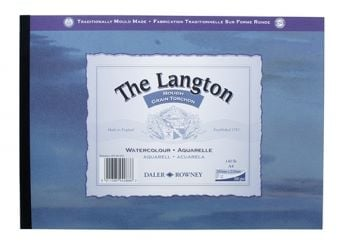 Daler Rowney The Langton Gummed A5 Watercolour Pad