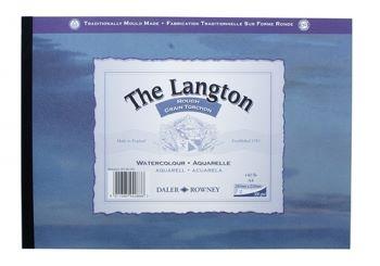 Daler Rowney The Langton Gummed A4 Watercolour Pad