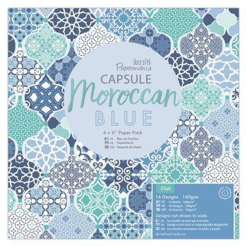 """6 x 6"""" Paper Pack (32pk) - Capsule - Moroccan Blue"""